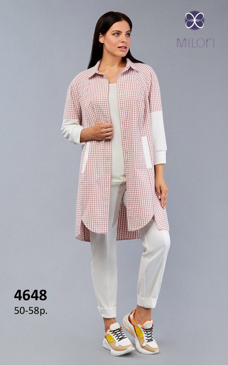 Платье-рубашка 4648
