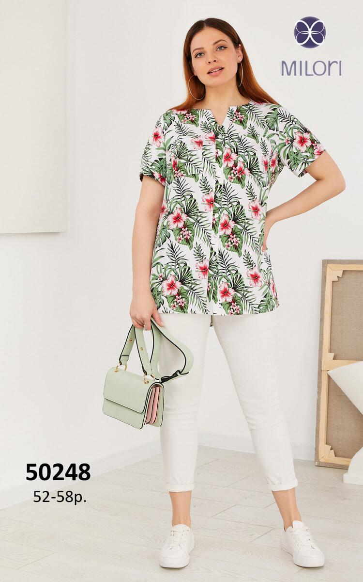 Блузка 50248